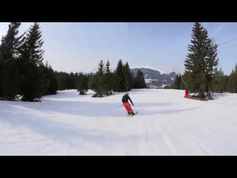 Piste de ski Les Melezes - Les Gets