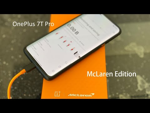 OnePlus 7T Pro McLaren - Unboxing and First Impressions