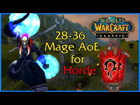 WoW Classic - Frost Mage AoE leveling for Horde - Part 2
