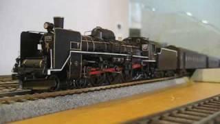 DCCサウンド 磐越西線1222列車を再現 C57 1とC57 180のプッシュプル