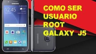 como ser root Galaxy J5 sin computadora - Abril 2017