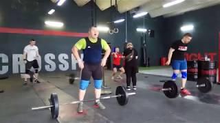 Арямнов первая тренировка в CrossFit зале+небольшая Заруба!!!