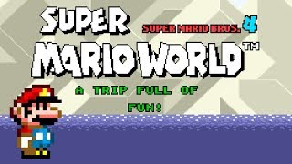 SMW (Super Mario Bros. 4): A Trip Full of Fun! (Demo) | Super Mario World ROM Hack (スーパーマリオワールド)