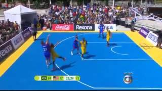 Brasil X Estados unidos basquete 3x3 11 01 2015