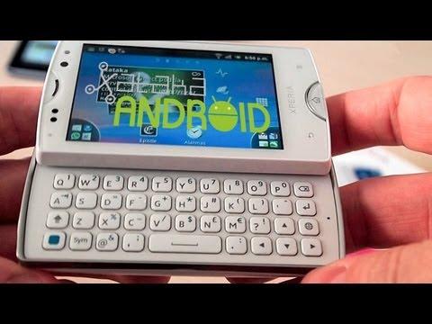 Sony Ericsson Xperia Mini Pro, análisis
