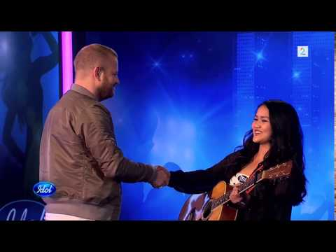 Jekeziahrem Villanueva (15) audition on Norwegian Idol HQ