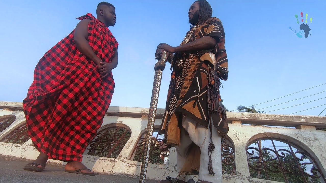 Afrikan anti-amerikkkan King Embraces African Languages & Culture