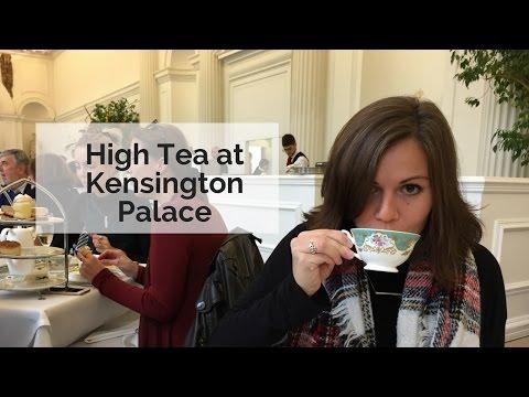 High Tea at London's Kensington Palace