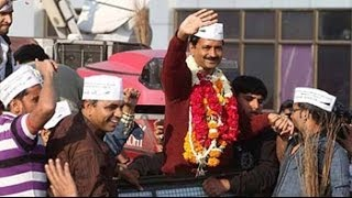 What has Arvind Kejriwal achieved on his Gujarat roadshow