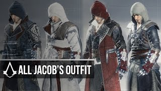 Assassin's Creed Syndicate - All Jacob's Outfit/Coats/Belts (Showcase)