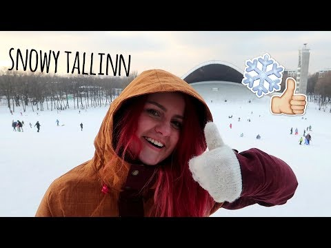Visit Tallinn Vlog: How to have fun in snowy Tallinn!