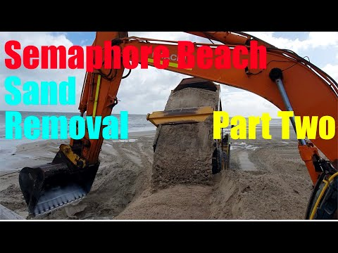 SANDCARTING AT SEMAPHORE BEACH PART TWO