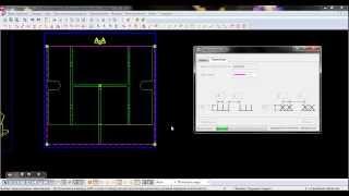 Tekla Structures - Автоматическое рисование сварки ресничками в чертеже