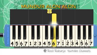 Download lagu Not Pianika Mundur Alon Alon