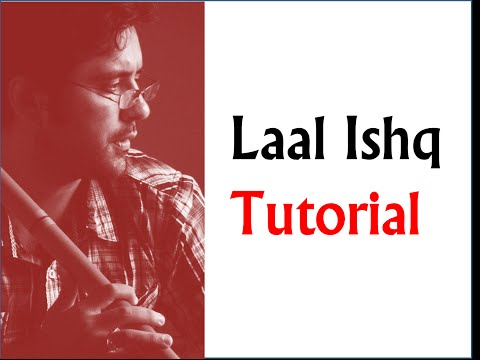 Laal Ishq  Song Notations by Harsh Dave