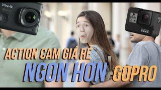 Action cam 4K ngon hơn GoPro giá 2,5 triệu