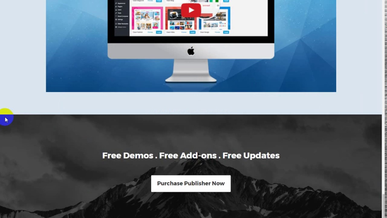 Publisher Magazine, Blog, Newspaper and Review WordPress Theme - YouTube