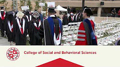 CSUN Commencement 2018: Social & Behavioral Sciences I