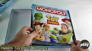 Історія іграшок Монополія від Hasbro. Розпакування та перший погляд!!
