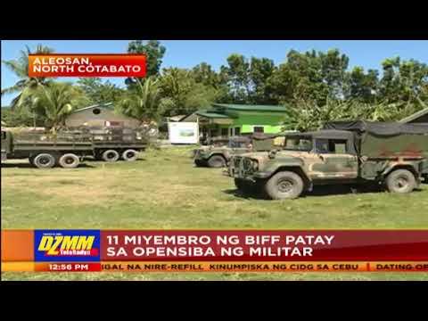 11 BIFF patay, 4 sundalo sugatan sa engkuwentro sa N. Cotabato