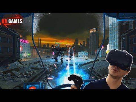 Боевые роботы, ракеты и пулеметы. Война машин в War Robots VR The Skirmish