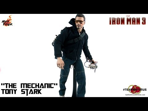 """Video Review of the Hot Toys Iron Man 3: """"The Mechanic"""" Tony Stark"""