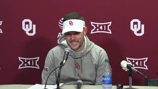 OU Football: Lincoln Riley on dramatic win over Baylor
