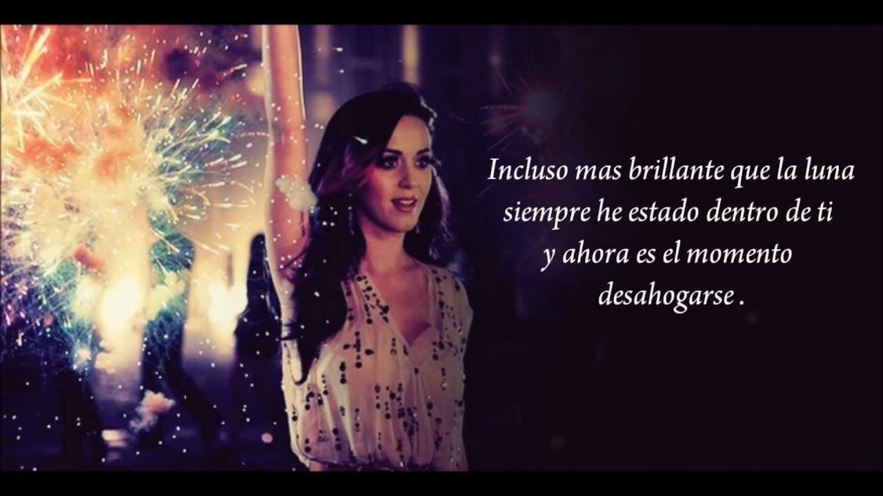Katy Perry - Firework [ letra en español ] - YouTube