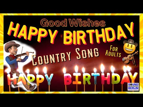 Birthday Song For Adults ❤️ New Train Country Version 2020 Good Wishes Happy Birthday Song WhatsApp