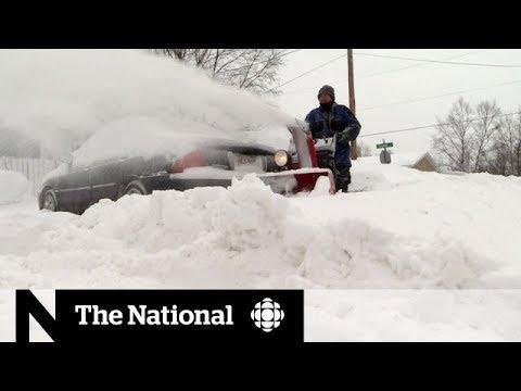 Winter storm's destruction felt in Canada and U.S.