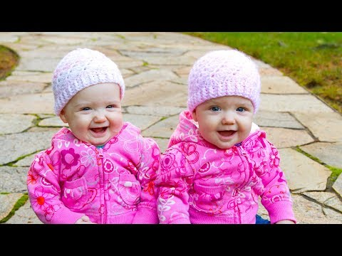 Funny Twin Babies Laughing and Playing Together Compilation (2017)