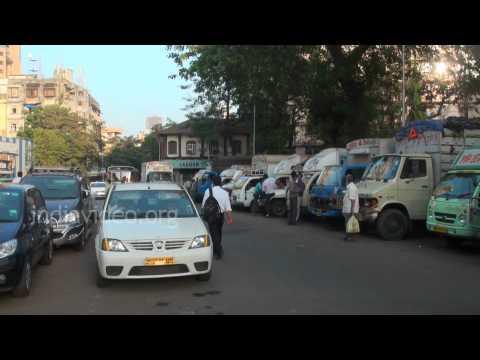 A Busy Road Near August Kranti Maidan, Mumbai