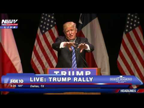 FULL: Donald Trump Rally Speech Dallas, Texas 6/16/16