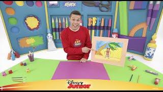Art Attack #2: Lav en kollage - Disney Junior Danmark