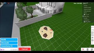 how to make a sand pit on roblox (bloxburg)