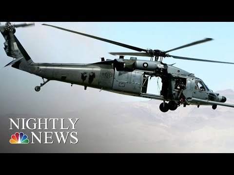 U.S. Air Force Helicopter Crashes Near Iraq Border, Killing Seven On Board | NBC Nightly News
