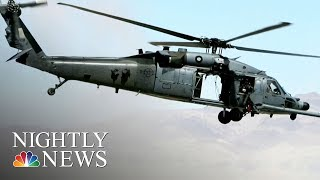 U.S. Air Force Helicopter Crashes Near Iraq Border, Killing Seven On Board | NBC Nightly News thumbnail