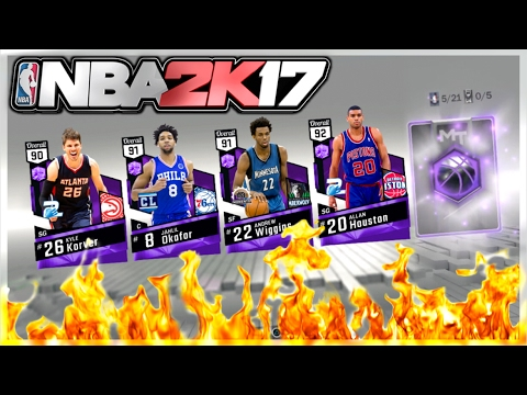 NBA 2K17 $200 VC VARIETY PACK OPENING! PLUS HUGE VC GIVEAWAY!