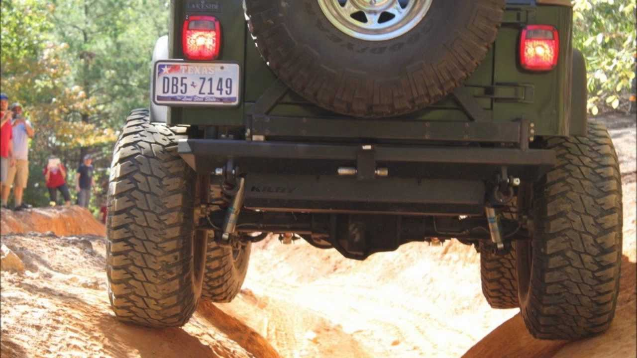 Jeep Wrangler Lifted With 37 Quot Tires Youtube