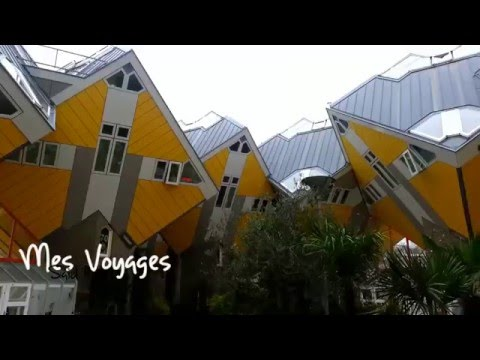 ROTTERDAM 2015 |  Architecture bizarre |  Cube House