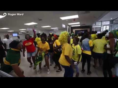 ANCYL storm ABSA branch in Durban CBD