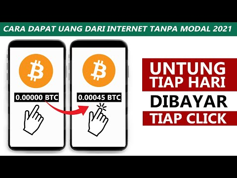 Dibayar Tiap Hari Hanya Click Dapat Bitcoin Gratis Cara Dapat Uang Dari Internet Tanpa Modal