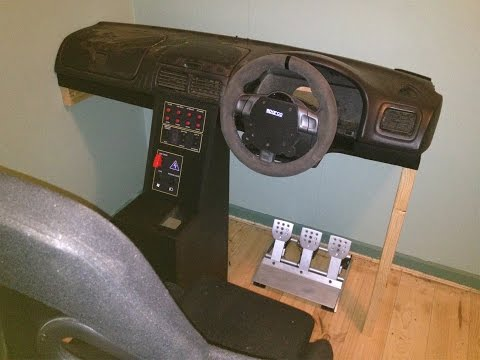 DIY Sim Racing Cockpit build