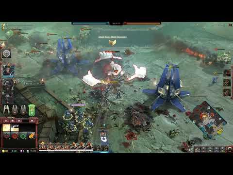 Dawn of War 3 Faction War 3v3 Ultramarine Space Marine vs Blood Axes Orks