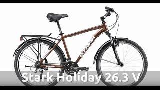 Обзор дорожного велосипеда Stark Holiday 26.3 V