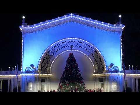 December Nights, Balboa Park San Diego 2017