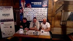 VER Selb-Deggendorfer SC: Die Pressekonferenz nach dem Spiel