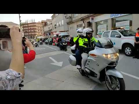 Las motos toman Ponte Caldelas