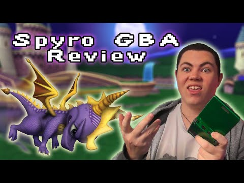 Spyro GBA Games Review - Square Eyed Jak