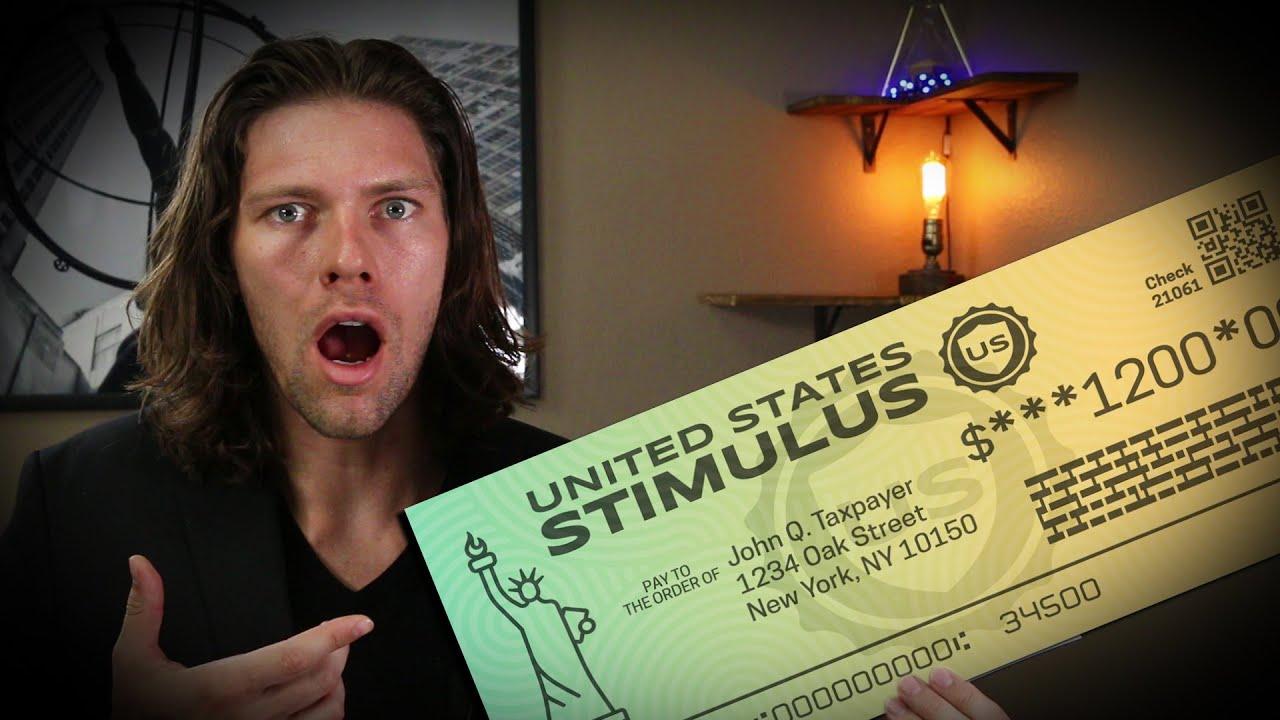 GREAT NEWS: Senate Stimulus Bill Includes Second Stimulus Check!